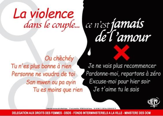 2003 affiche camp violence viol ds le couple jamais de l'amour