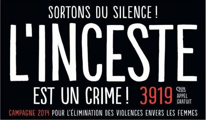 affiche campagne 2014 inceste