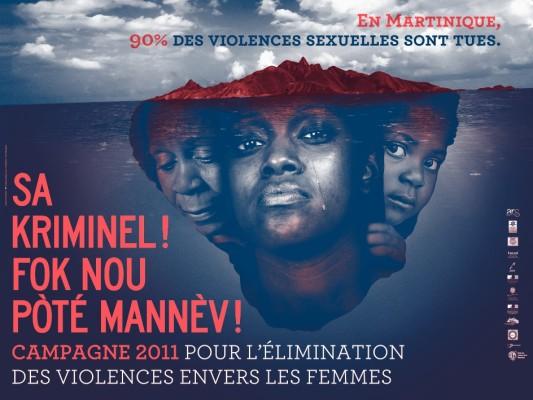 Affiche campagne violences 2011