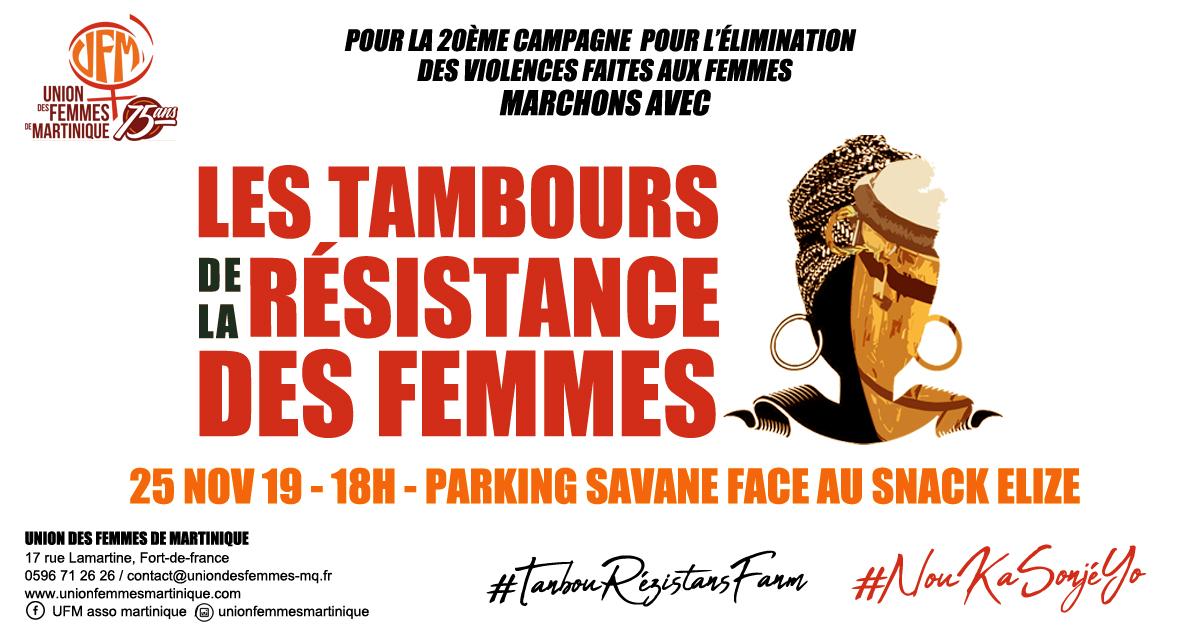 Annonce Tambours résistance femmes - 25nov19 def