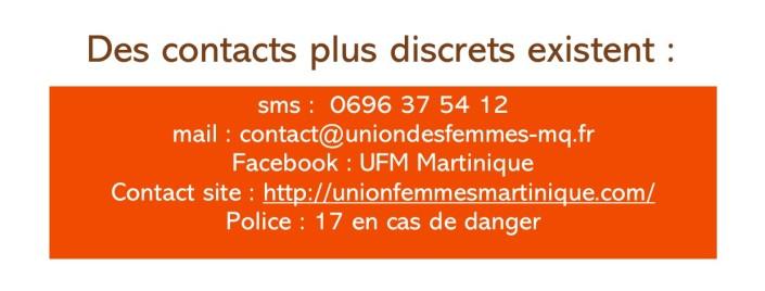 Contacts discrets